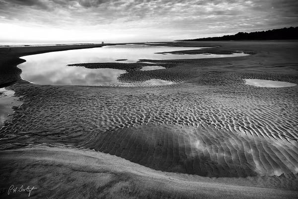 Lowcountry Digital Art - Textures Of Low Tide by Phill Doherty