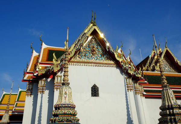 Photograph - Thai Temple Design by August Timmermans