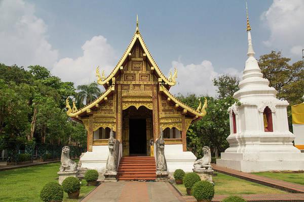 Singh Wall Art - Photograph - Thailand, Chiang Mai, Wat Phra Singh by Emily Wilson