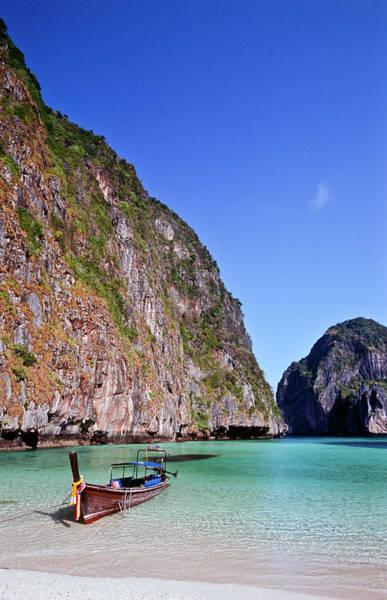 Phi Phi Island Photograph - Thailand, Krabi Province, Ko Phiphi by Tropicalpixsingapore
