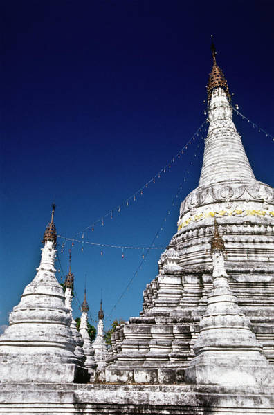 Thailand Photograph - Thailand, Mae Hong Son, Wat Phra That by Tropicalpixsingapore