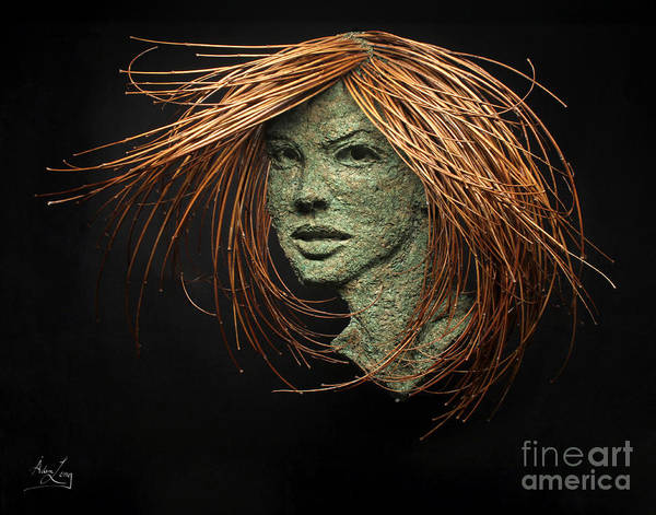 Twig Mixed Media - Thalia Of The Three Graces by Adam Long