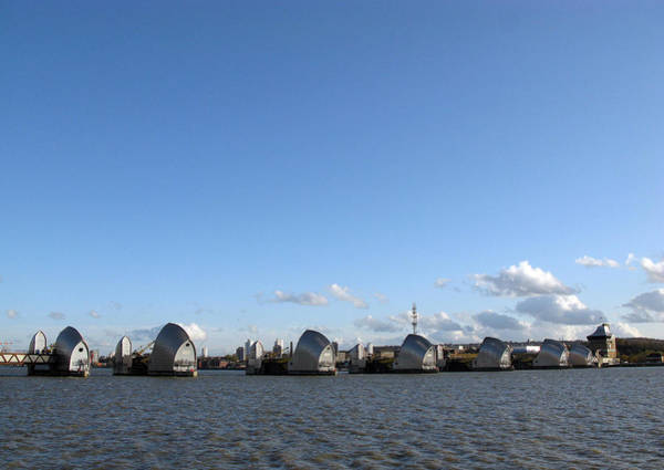 Photograph - Thames Barrier by Helene U Taylor
