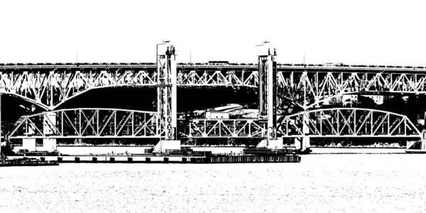 Photograph - Thames River Bridge by Keith Stokes