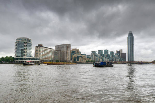 Photograph - Thames Riverboat  by Gary Eason