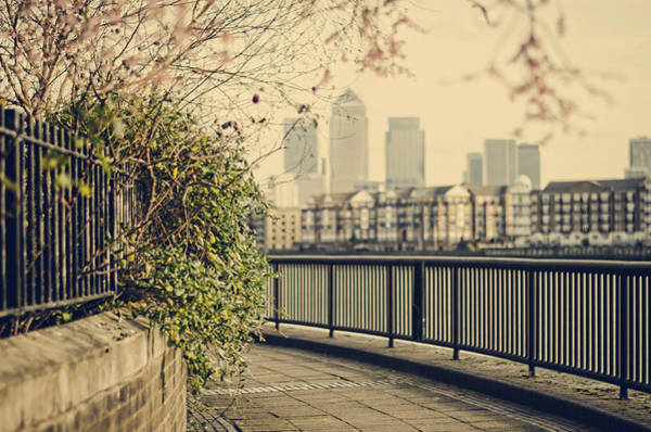 Photograph - Thames Walk by Heather Applegate