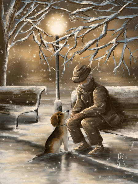 Frosty Digital Art - Thanks For The Good Times by Veronica Minozzi