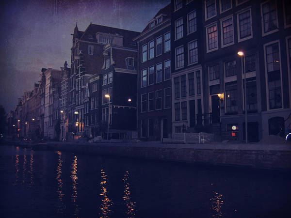 Amsterdam Photograph - That Evening In Amsterdam by Laurie Search
