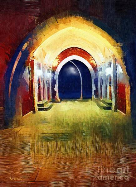 Painting - That Long Walk Home by RC DeWinter