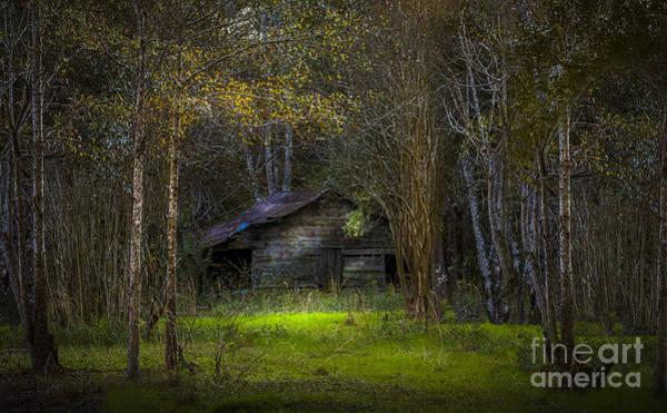 Farm Equipment Photograph - That Old Barn by Marvin Spates