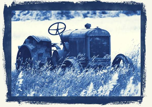 Wall Art - Photograph - That Old Tractor by Dan Sproul