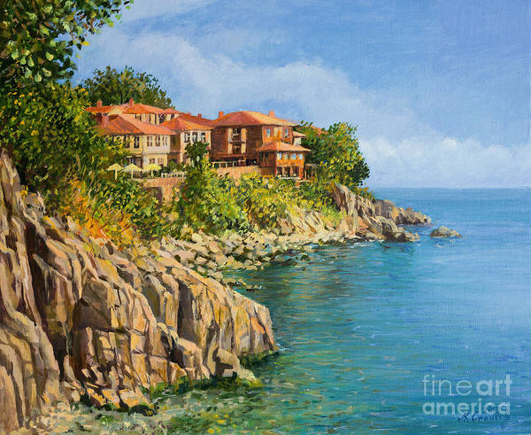 Wall Art - Painting - That Summer by Kiril Stanchev