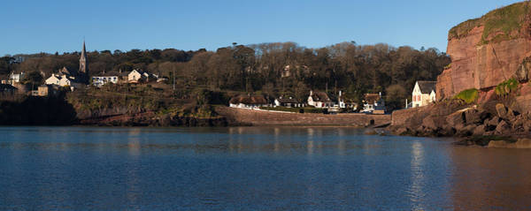 Dunmore East Photograph - Thatched Cottages In A Town, Dunmore by Panoramic Images