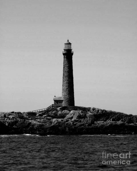 Photograph - Thatcher Island Lighthouse by Kristen Fox