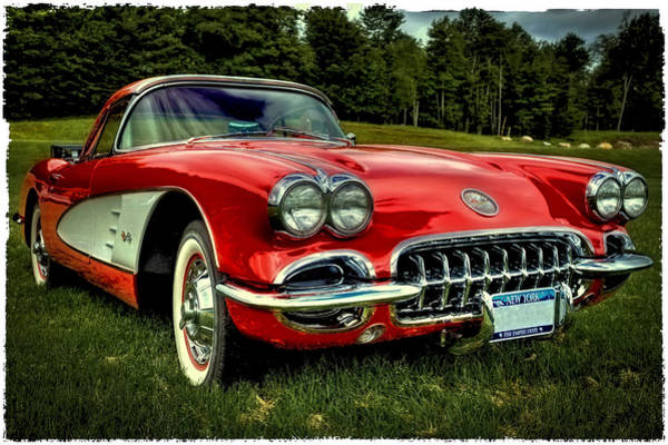 Photograph - The 1960 Chevrolet Corvette by David Patterson