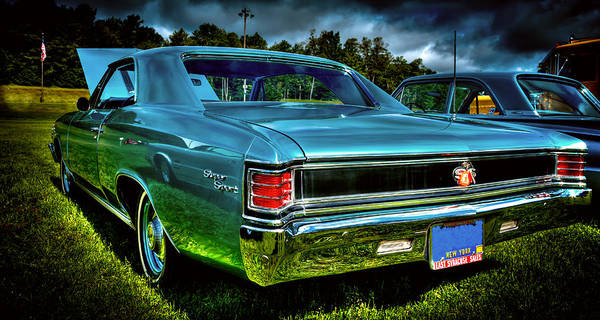 Photograph - The 1967 Chevrolet Chevelle Ss by David Patterson