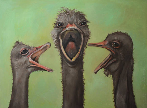 Opera Singer Painting - The 3 Tenors by Leah Saulnier The Painting Maniac