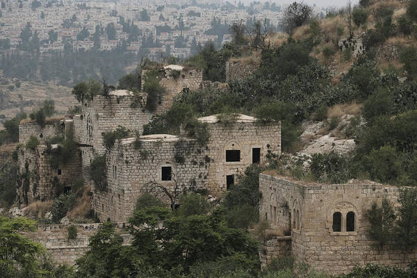 The Abandoned Palestinian Village Of Lifta On The Outskirts Of Jerusalem Art Print by Eddie Gerald