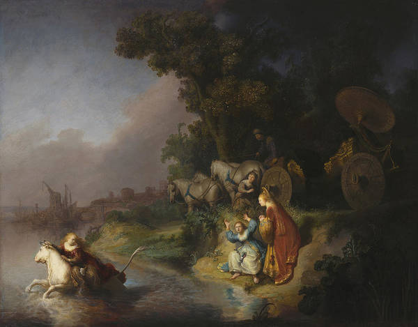 Painting - The Abduction Of Europa by Celestial Images