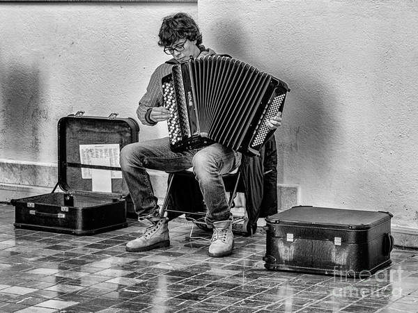 Wall Art - Photograph - The Accordion by Eugenio Moya