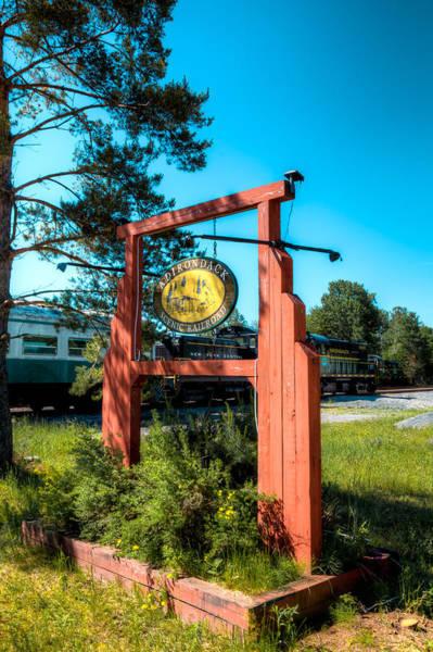 Photograph - The Adirondack Scenic Railroad II by David Patterson