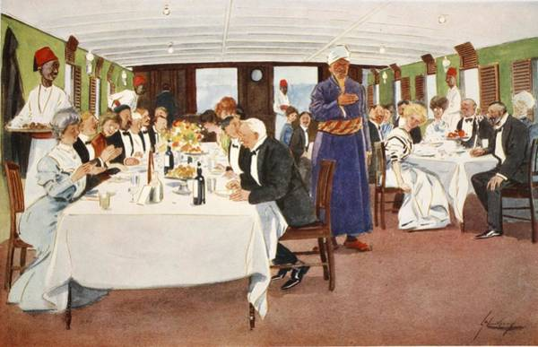 Tie Drawing - The After-dinner Speech, From The Light by Lance Thackeray