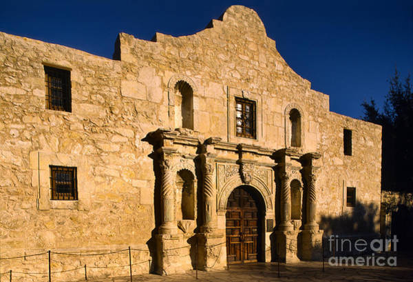 San-antonio Photograph - The Alamo by Inge Johnsson