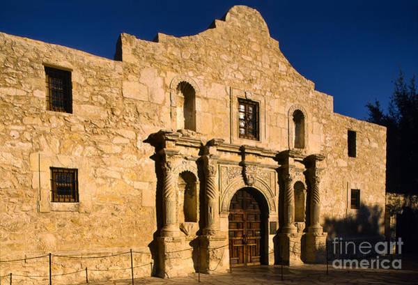 San Antonio Photograph - The Alamo by Inge Johnsson