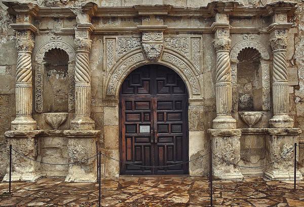 San Antonio Photograph - The Alamo by Robert Fawcett