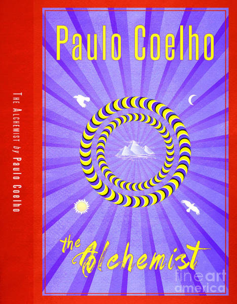 Front Room Digital Art - The Alchemist Book Cover Poster Art 2 by Nishanth Gopinathan