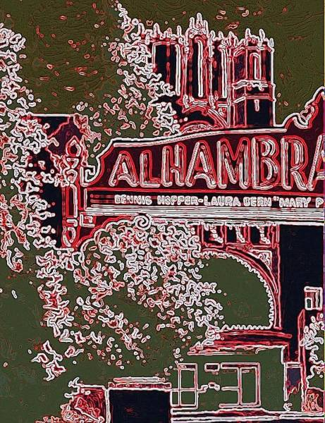 Wall Art - Painting - The Alhambra by Paul Guyer