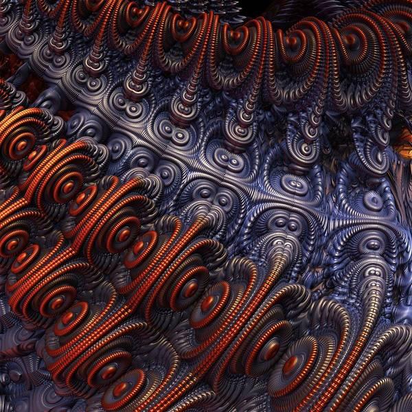 Wall Art - Digital Art - The Alien Ship by Lyle Hatch
