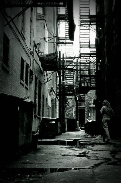 Photograph - The Alleyway by Michelle Calkins