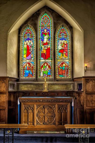 Wall Art - Photograph - The Altar Windows by Adrian Evans