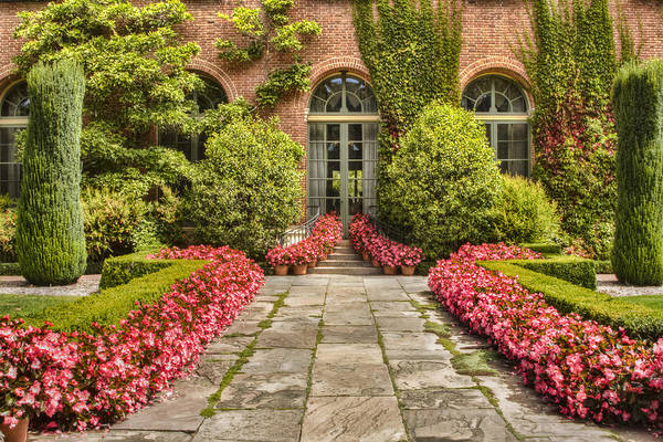 Filoli Photograph - The American Dream Beckons by Marilyn Cornwell
