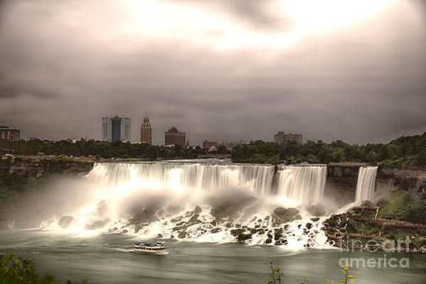 Photograph - Niagara Falls by Jim Lepard