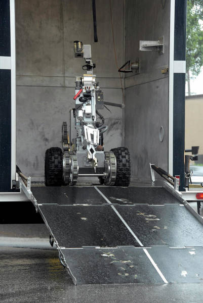 Andros Photograph - The Andros F6-a Robot by Stocktrek Images