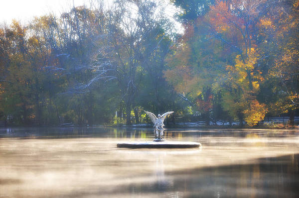 Photograph - The Angel Of Ambler by Bill Cannon