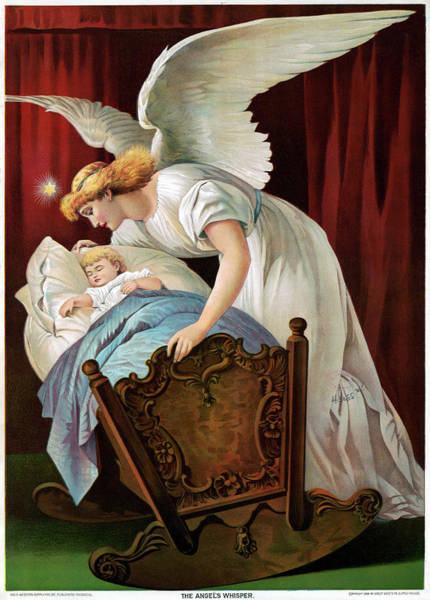Wall Art - Painting - The Angel's Whisper, C1894 by Granger