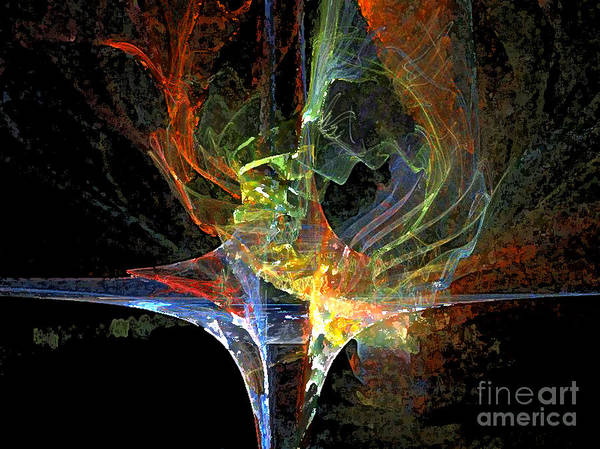 Digital Art - The Ank Of Colour by Lance Sheridan-Peel