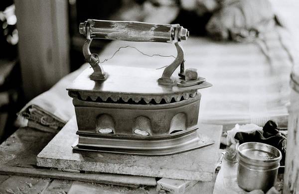Photograph - The Antique Iron by Shaun Higson