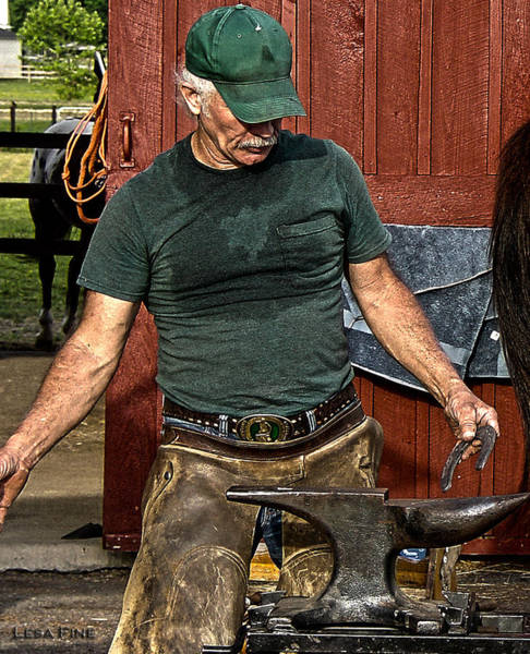Photograph - The Anvil And The Horseshoe by Lesa Fine