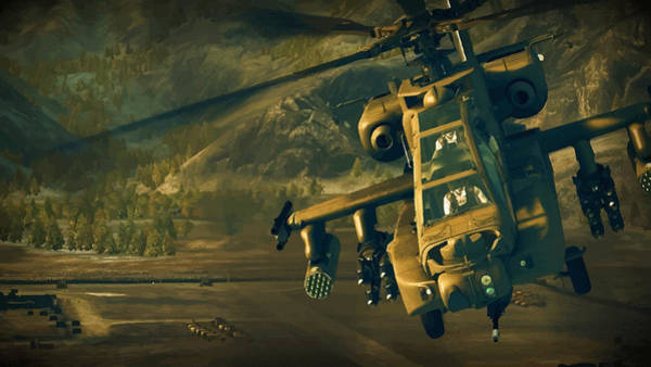 Junkers Digital Art - The Apache On The Move by Don Kuing