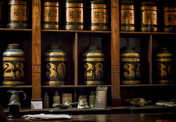 Photograph - The Apothecary by Heather Applegate