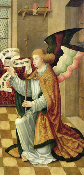 Gabriel Painting - The Archangel Gabriel by German School
