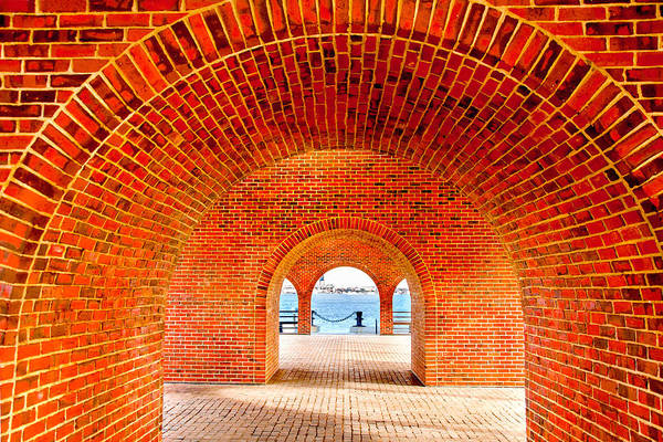 Wall Art - Photograph - The Arches by Greg Fortier