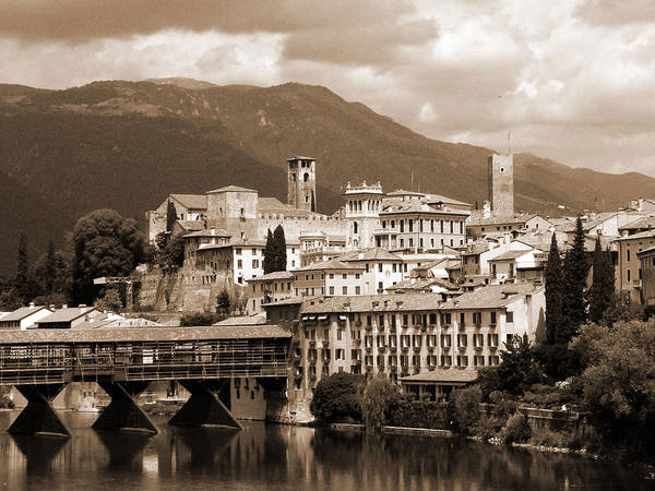 Photograph - The Architecture Of Bassano Del Grappa by Donna Corless