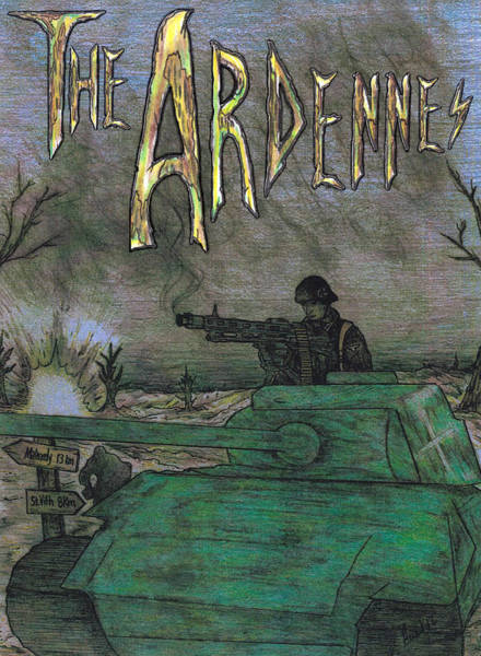 Mixed Media - The Ardennes by Jason Girard
