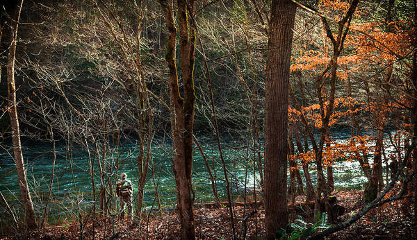 Trout Stream Photograph - The Art Of Fly Fishing by Karen Wiles