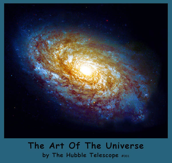 Digital Art - The Art Of The Universe 301 by The Hubble Telescope